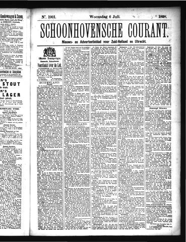 Schoonhovensche Courant 1898-07-06
