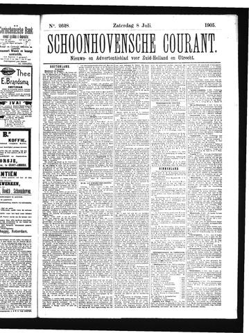 Schoonhovensche Courant 1905-07-08