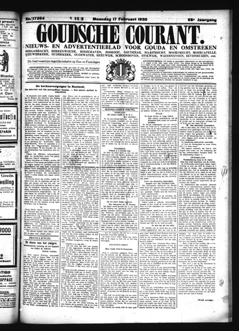 Goudsche Courant 1930-02-17