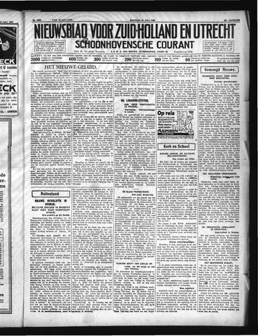 Schoonhovensche Courant 1936-07-20
