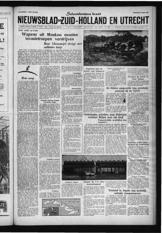 Schoonhovensche Courant 1961-04-19