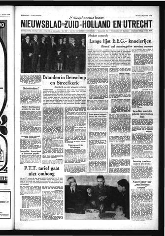 Schoonhovensche Courant 1970-01-05