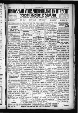 Schoonhovensche Courant 1930-03-10