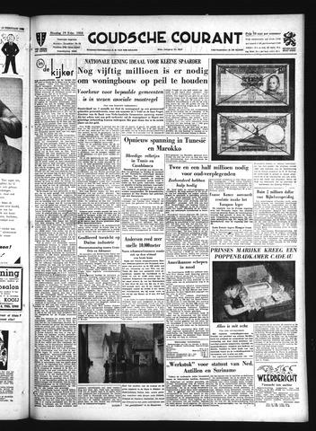 Goudsche Courant 1952-02-19