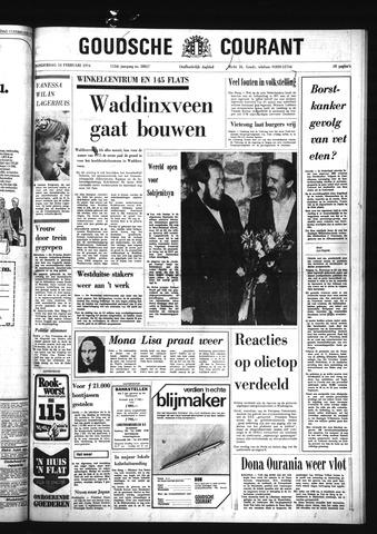 Goudsche Courant 1974-02-14