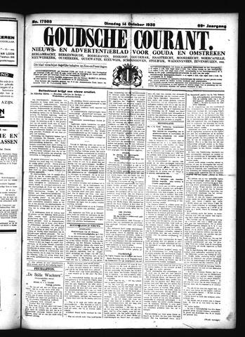 Goudsche Courant 1930-10-14