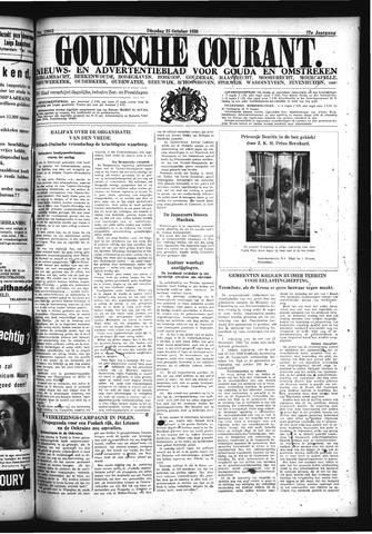 Goudsche Courant 1938-10-25