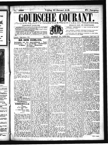 Goudsche Courant 1919-01-10