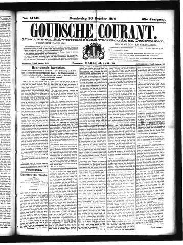Goudsche Courant 1919-10-30