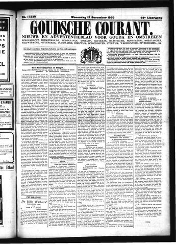 Goudsche Courant 1930-11-12