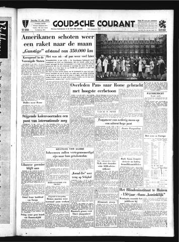 Goudsche Courant 1958-10-11