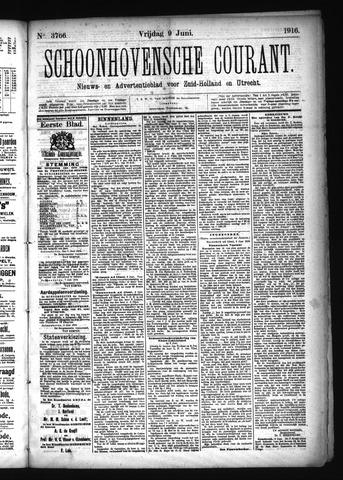 Schoonhovensche Courant 1916-06-09