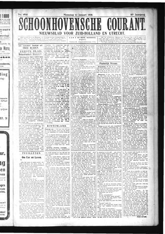 Schoonhovensche Courant 1925-01-12