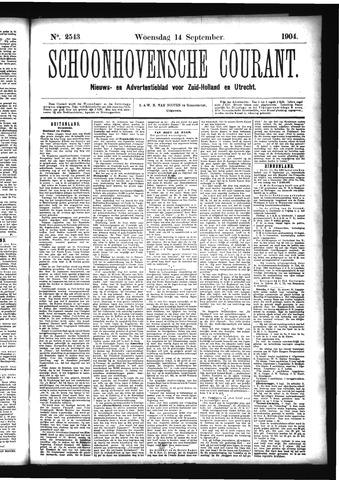 Schoonhovensche Courant 1904-09-14