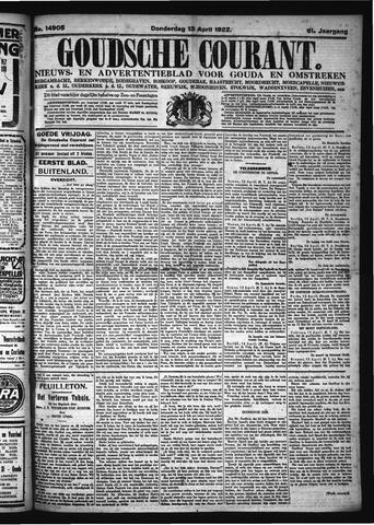 Goudsche Courant 1922-04-13