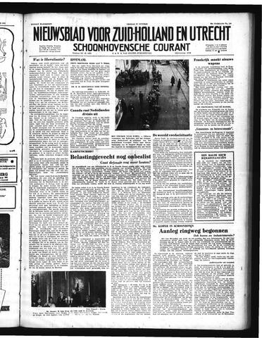 Schoonhovensche Courant 1950-10-27