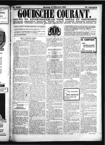 Goudsche Courant 1935-02-12