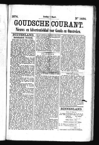 Goudsche Courant 1874-03-01