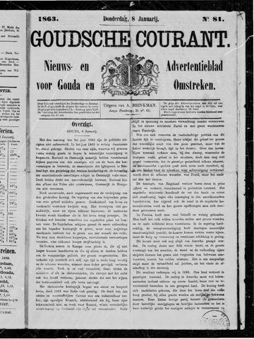 Goudsche Courant 1863-01-08