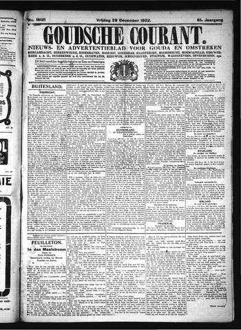 Goudsche Courant 1922-12-29