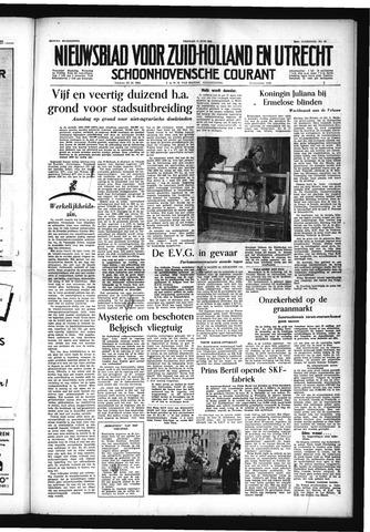 Schoonhovensche Courant 1954-06-11