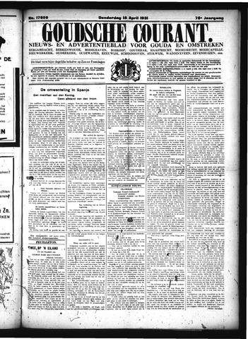 Goudsche Courant 1931-04-16