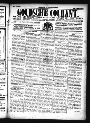 Goudsche Courant 1928-10-15