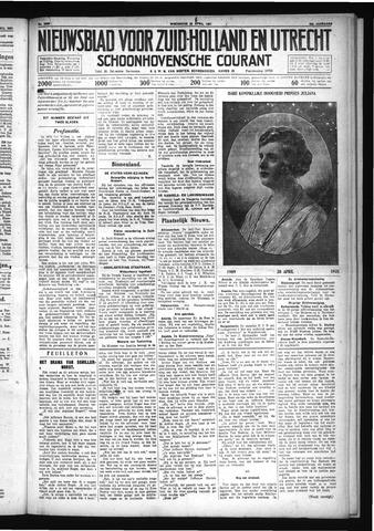 Schoonhovensche Courant 1931-04-29