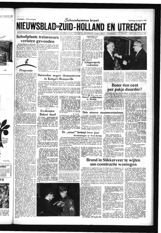 Schoonhovensche Courant 1963-08-14