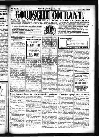Goudsche Courant 1930-08-23