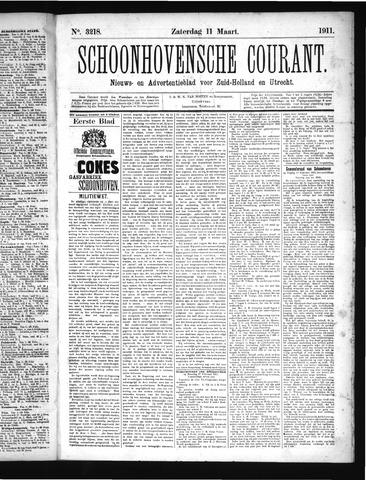 Schoonhovensche Courant 1911-03-11