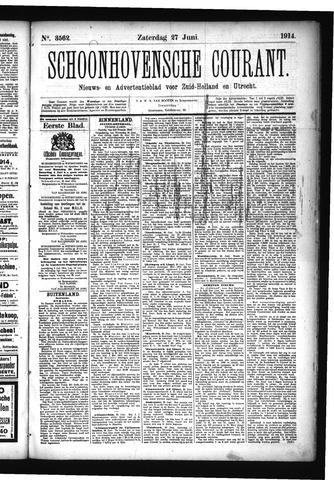 Schoonhovensche Courant 1914-06-27
