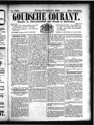 Goudsche Courant 1898-09-27