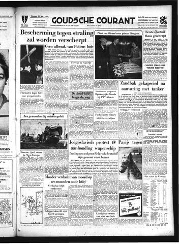 Goudsche Courant 1958-01-21
