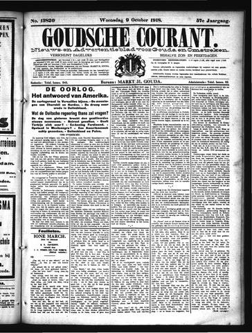 Goudsche Courant 1918-10-09
