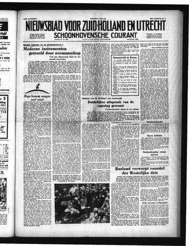 Schoonhovensche Courant 1951-06-06