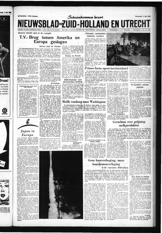 Schoonhovensche Courant 1962-07-11