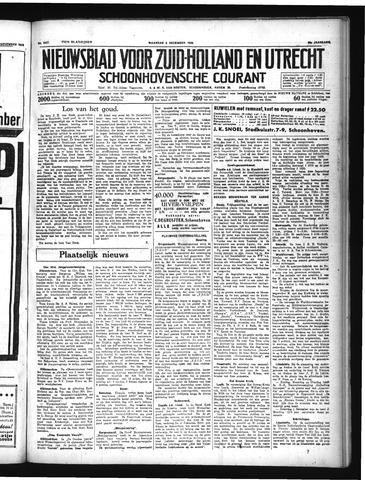 Schoonhovensche Courant 1934-12-03