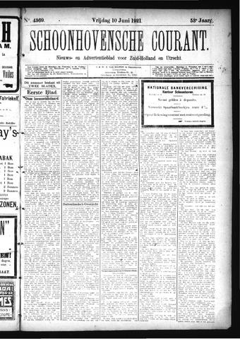 Schoonhovensche Courant 1921-06-10