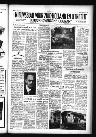 Schoonhovensche Courant 1956-08-24