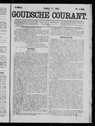 Goudsche Courant 1864-07-17