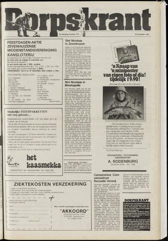 Dorpskrant 1985-11-13