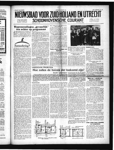 Schoonhovensche Courant 1952-03-21