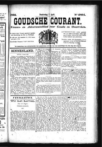 Goudsche Courant 1892-04-07