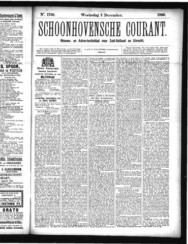 Schoonhovensche Courant 1896-12-02