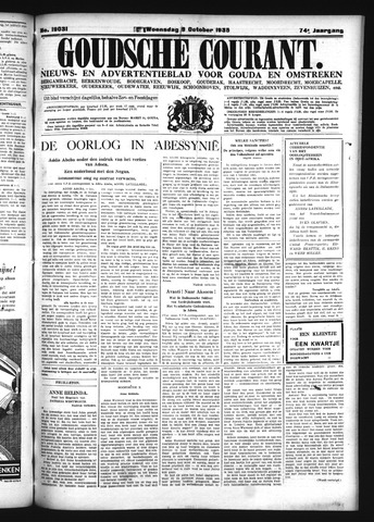 Goudsche Courant 1935-10-09