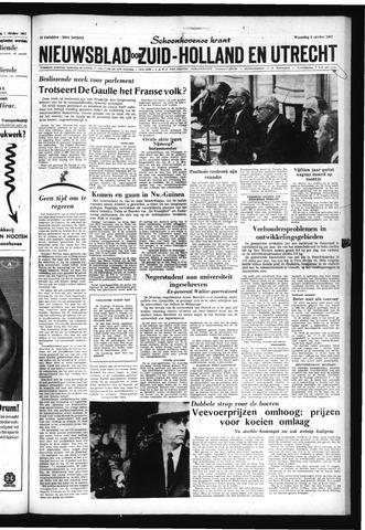 Schoonhovensche Courant 1962-10-03