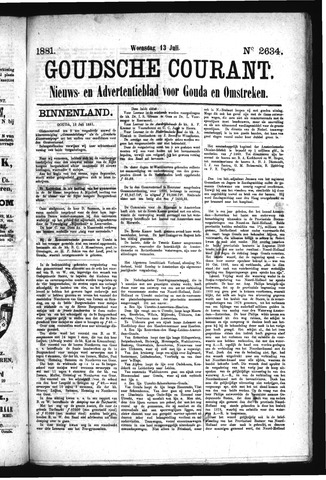 Goudsche Courant 1881-07-13