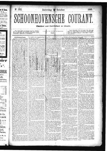 Schoonhovensche Courant 1888-10-27