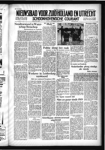 Schoonhovensche Courant 1954-08-02